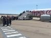 Embarquement à l'aéroport de Marseille